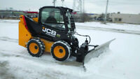 Skid steer operator needed for snow