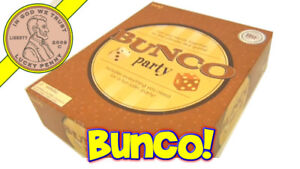 GAME BUNCO PARTY COMME NEUF TAXES INCLUSES