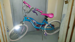 bicycle in perfect condition for children.