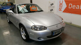 2005 MAZDA MX5 1.8cc ICON - ONLY 57,000 MILES - LEATHER SEATS - CHOICE OF 10