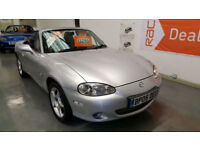 2005 MAZDA MX5 1.8cc ICON - ONLY 57,000 MILES FROM NEW - HEATED LEATHER SEATS