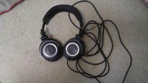 Audio Technica ATH-M50 (non detachable cable version)