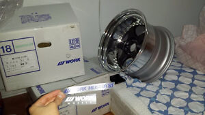 Work Meisters S1 P3 Full Sets + R888  5x114.3 Widebody Fitment