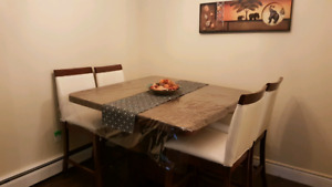 Moving Sale !!! Excellent Condition pub style dining table