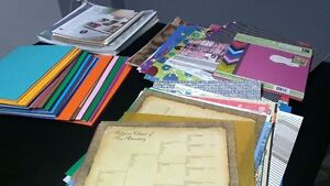 Large Lot of Scrapbooking Paper