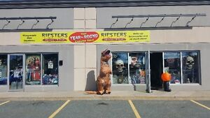 Your HALLOWEEN Costume Store LOCALLY OWNED AND OPERATED