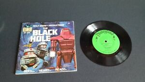 WALT DISNEY PRODUCTIONS THE BLACK HOLE READING BOOK AND LP