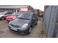 2004 / 54 Toyota Yaris 1.0 VVT-i Blue 5 Door Full MOT+Warranty+History