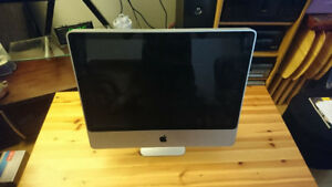 "Apple iMac 2009 A1225 24"" **FOR PARTS**NOT TESTED**"