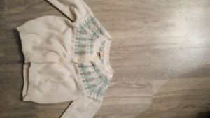 Gymboree 6 -12 month sweater