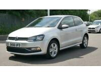 2016 Volkswagen Polo 1.0 Match 3dr Hatchback petrol Manual