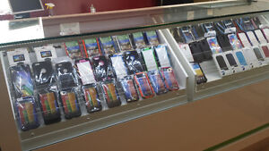 Cases, Chargers, Batteries, and more at our store in Bayers Lake