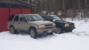 2 chevy blazers 2004 and 2005