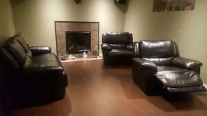 2 Recliners & Sofa for Sale