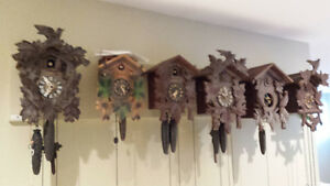 Wanted CUCKOO clocks for parts or repair, any condition.