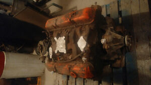 350 with 4 bolt main out of 72 corvette