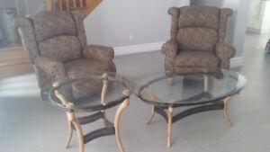 Set de Salon, Sofa, Inclinables,Tables/Living Room Set,Recliners