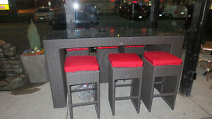 WIcker Direct Bar set