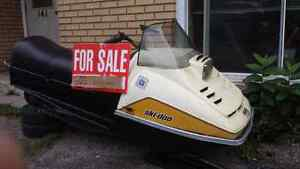 Skidoo Olympic trade for utility trailer