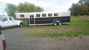 horse hauling free space