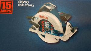 Brand new saw cs10 bosch