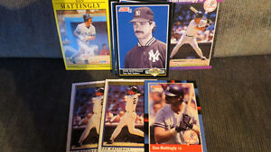 Don Mattingly MLB cards(8)
