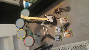 Rock Band Kit for XBOX 360