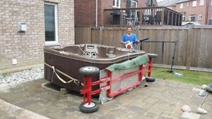 Best hot tub movers in the city 647 539 8827
