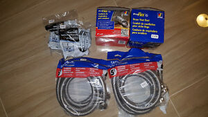 *** Washer Hoses, Dryer Duct Kit, Washer Stackit ***