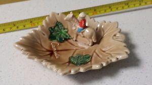 RCMP ashtray 3d antique rare police Canada vintage collectible