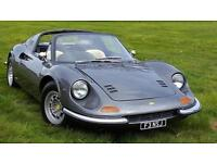 2012 FERRARI DINO DINO 246 GTS A SIMPLY STUNNING REPLICA THIS REALLY LO