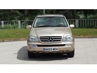 2003 Mercedes-Benz M Class 2.7 ML270 CDI 5dr