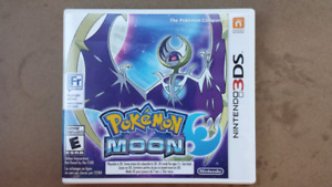 Pokemon moon 3ds - never played $25