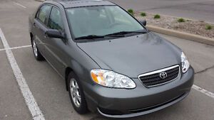 2007 TOYOTA COROLLA SE -LOW110KMS-POWER EVERYTHING-AUTO-SUNROOF-