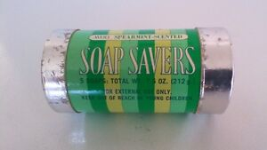 Avon Vintage Spearment Scented Soap Savers - Set of 6