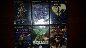 23 PS2 Games, 2 PS1 Games & 6 PSP Games SONY