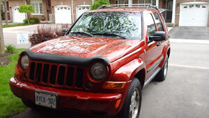 2007 Jeep Liberty Sport Sport 4wd Leather Seats Sunroof