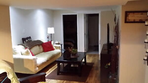 2 bed basement apartment in E.Brampton, avail Oct 1st, $1000/mon