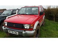 Mitsubishi Shogun swb manual UK spec not import new mot off roader