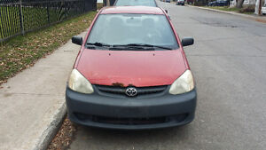2003 Toyota Echo 1.5L 4cyl AC bluetooth Sedan