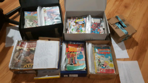 Comic Books from 1954 to 1992
