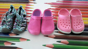 Size 2 and size 3 Girl shoes
