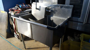 DOUBLE COMPARTMENT SINK