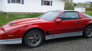 1989 Trans Am. Great condition. $6000