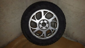 GREAT DEAL ON A Set of 4 Firestone Winterforce tires on rims. London Ontario image 1