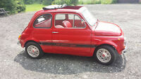 1975 FIAT 500 ABARTH 595 TRIBUTE FULLY RESTORED CLASSIC FIAT 500