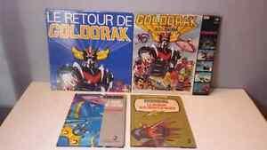 GOLDORAK livre et disque