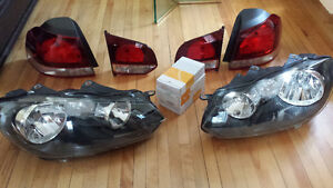 Brand New VW Golf 6 Head and Rear Lights