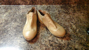 Jazz tap leather shoes size 7.5 AD
