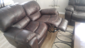 Couch and seat for sale!